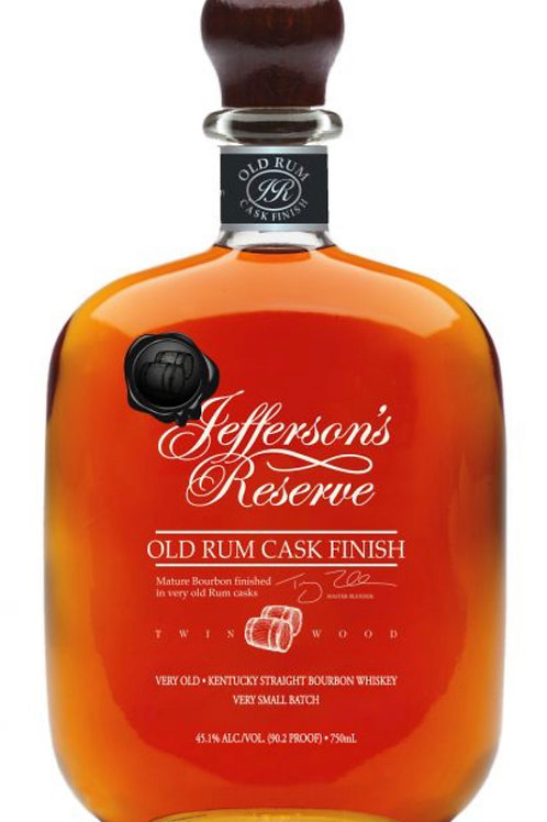 Jefferson's Reserve Old Rum Cask finish