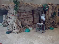 Caverna artificial - imagem externa