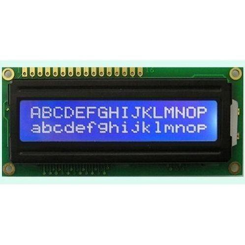 Display LCD Azul
