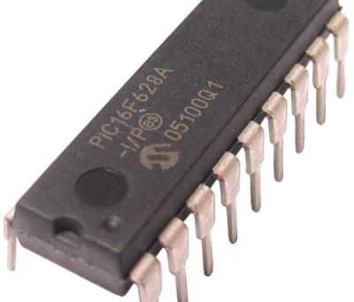 Pisca LED com PIC16F628