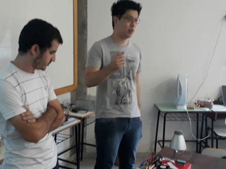 Apresentações de trabalhos, Controle de sistemas Mecânicos, Turma 2017, Eng Mec - UEM.