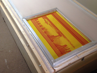 New Large Screen Printing Frame 3'x7'!
