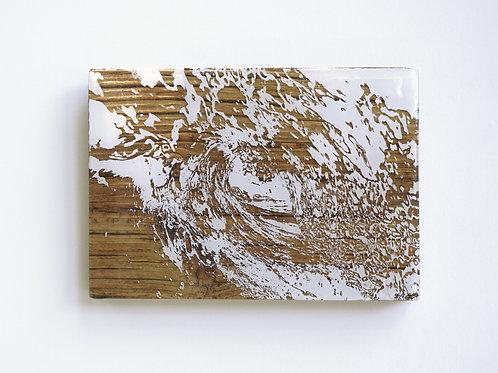 SOLD / White Wave Barrel