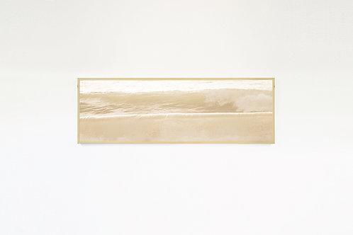 """UNDERLINE"" Photo Canvas Print, Ocean Wall Art, Large Wall Art, Wave"