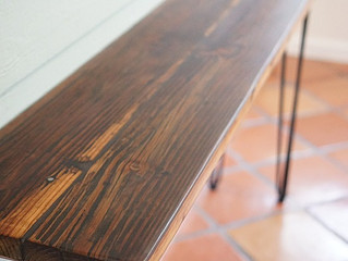 Table Created from Crystal Pier Wood