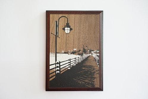 SOLD / River Walk / Wilmington NC / 5x7 / Art Print