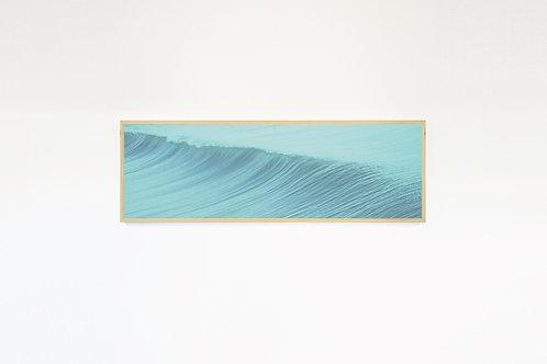 """BLUE WAVES #1"" Photo Canvas Print, Ocean Wall Art, Large Wall Art, Wave Art"