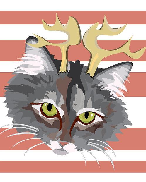 Antler Cat