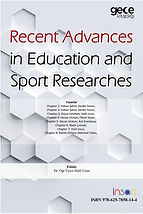 Recent Advances in Education and Sport R