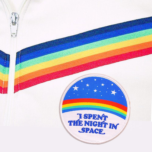 I 'Spent The Night in Space' Iron-on Patch