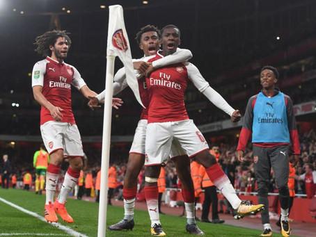 Arsenal 2-1 Norwich City