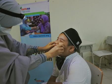 LAZISNA Gelar Layanan Kesehatan Gratis di Tengah Pandemi Menjelang Ramadan 1442 H