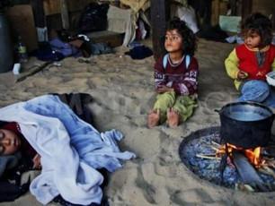 Anak-Anak Gaza Butuhkan Keperluan Musim Dingin