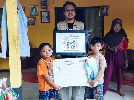 LAZISNA Luncurkan Program BTS (Back To School) Meal Untuk Para Santri Binaan Di Desa Cikarageman