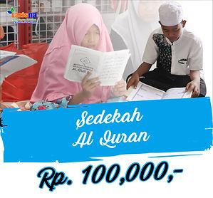 sedekah Al Qur'an Ramadhan flayer 2021 1