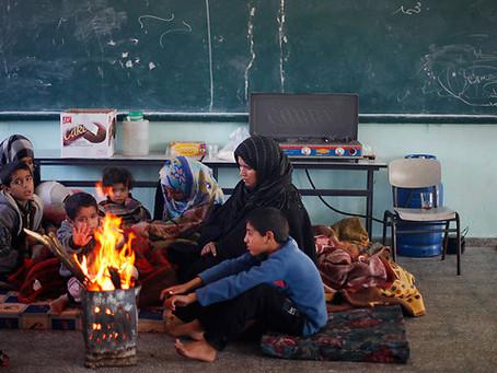 Saudara Kita di Palestina, BERTAHAN SEADANYA di Musim Dingin Yang Melanda