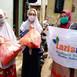 Bantuan Sembako Untuk Guru Ngaji Yang Menjadi Korban Banjir