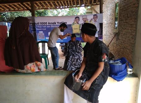 Pangkas Rambut Untuk Anak Yatim, Cara Lazisna Jaga Kebersihan Dimasa Pandemi