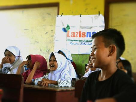 "LAZISNA Bergerak Jalani  ""Trauma Healing"" Untuk Ratusan Anak Korban Banjir bandang Sukabumi"