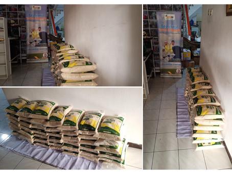 Persiapan Logistik Santunan Yatim, Candrabaga Bekasi