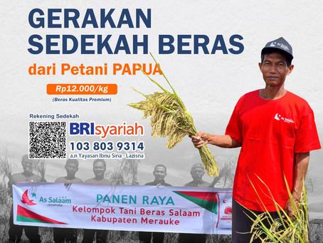 Gerakan Beli Beras Langsung Petani Papua