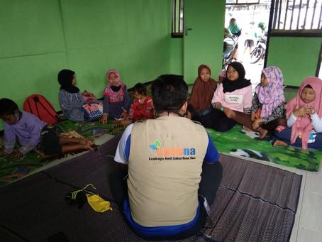 LAZISNA Terjunkan Relawan Dakwah...! Di Tempat Rawan Aqidah