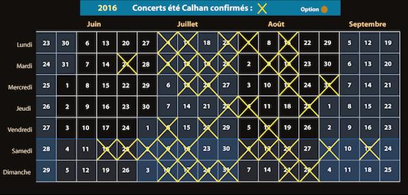 Calendrier calhan 2016