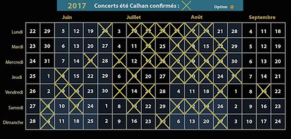 Agenda Calhan 2017