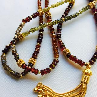 Garnets of many colors
