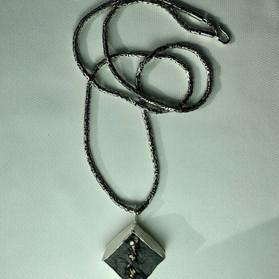Pyrite in slate