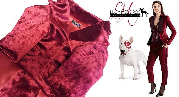 Target Canada Bullseye red velvet jacket