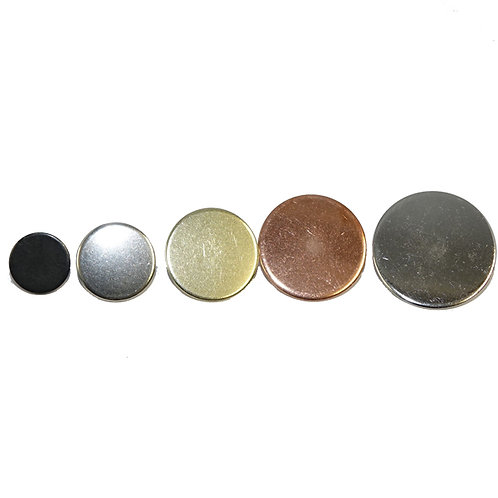 Flat Military Style Buttons
