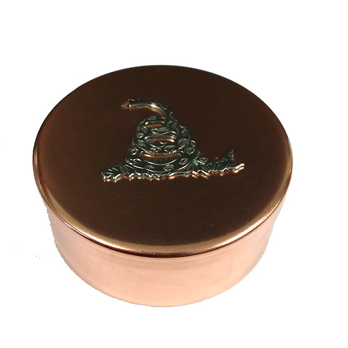 Snuff Box - Copper with snake