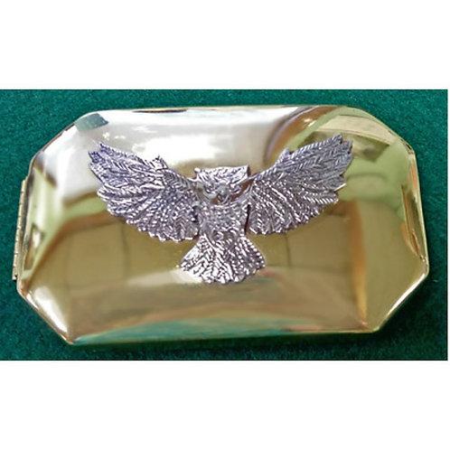 1700 Tinder Box - Brass - Owl