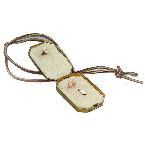 Fly Box - Brass - Fly Fishing Box