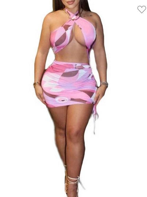 CROSSED UP - Dress