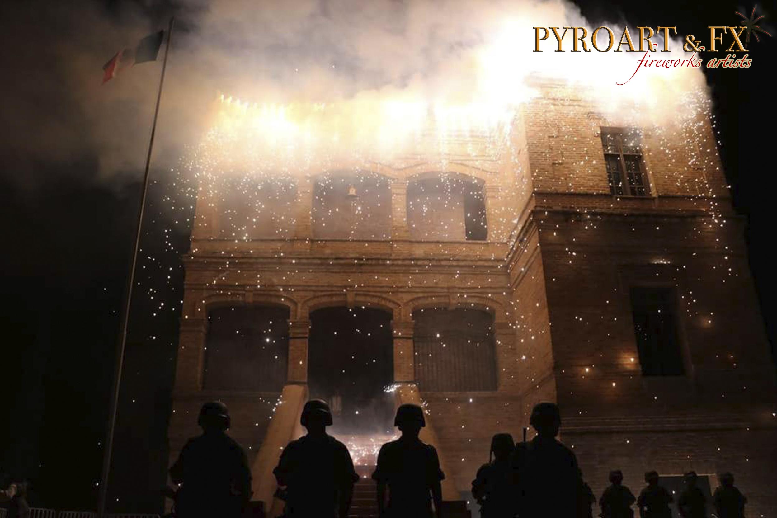 PYROART & FX - CASCADA RIO BRAVO