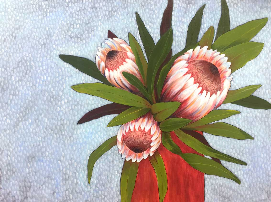 Proteas by Tiffany Morris-North