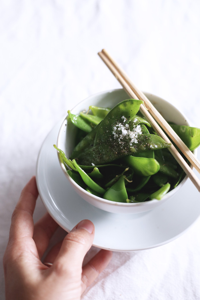 Snap pea Snack