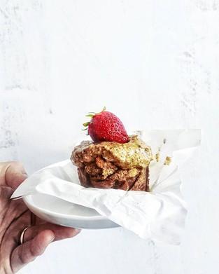 Gluten-free fat muffin!