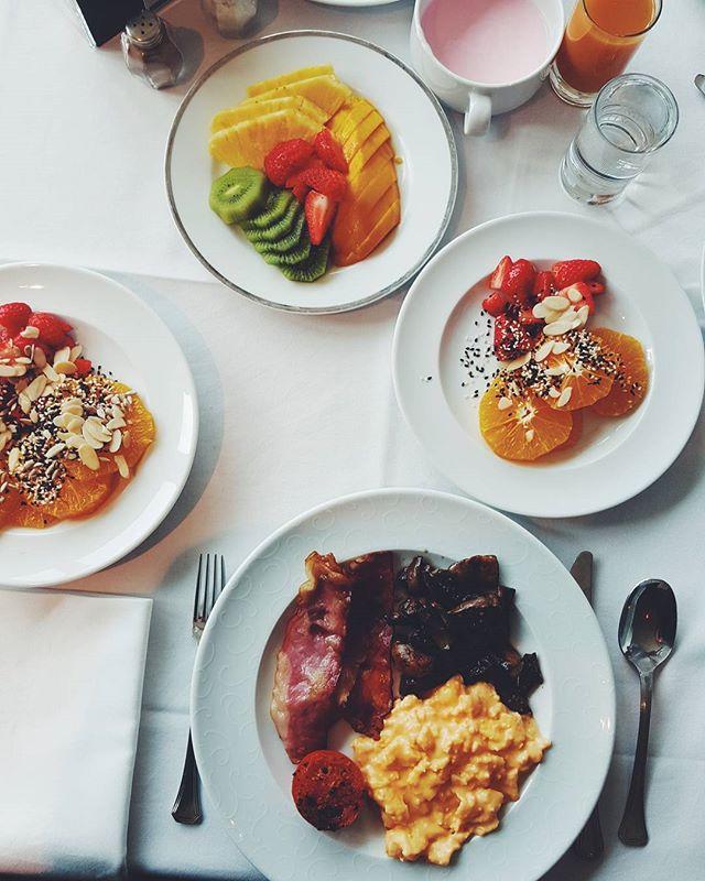Amazing breakfast as always! _#granderealvillaitalia #breakfast #goodmorning