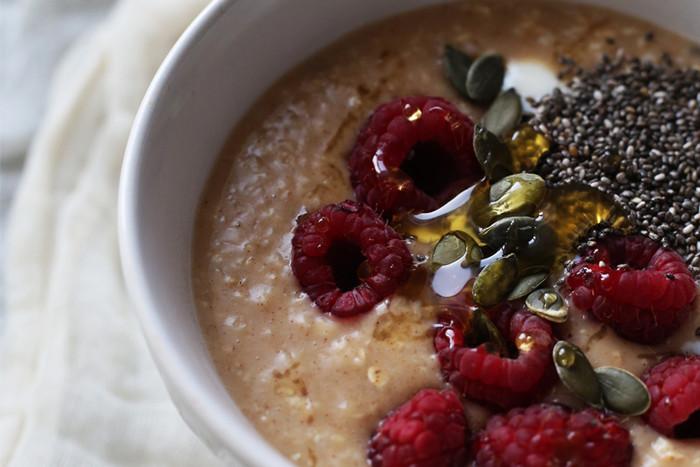 Maca berry super porridge!