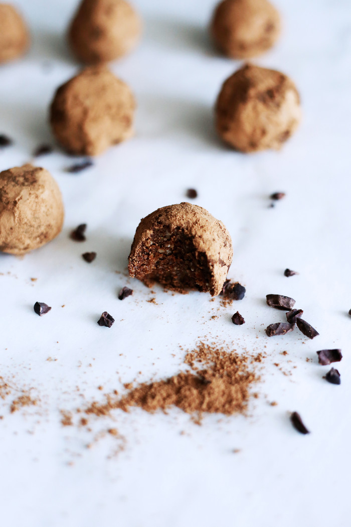 Guilt free truffles