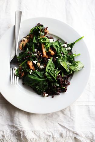 Warm 5-minute salad
