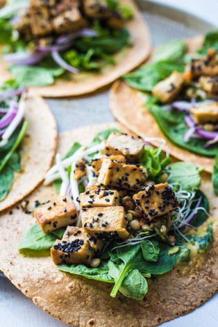 Super protein vegan wraps!