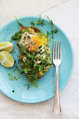 Egg&Avocado Toast!