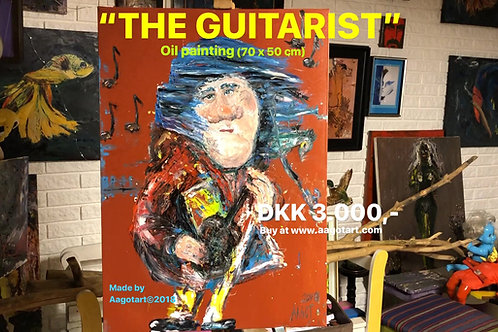 "*Sold!* ""THE GUITARIST"""