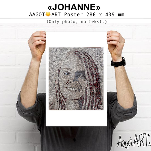 "Poster ""JOHANNE"" (no text)"