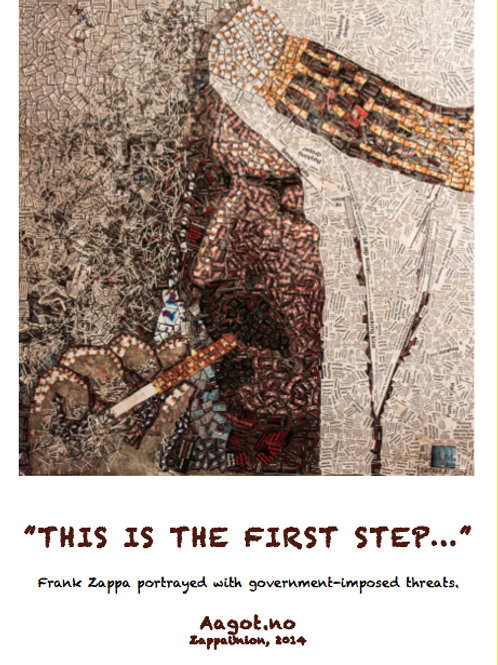 "A2 Poster: ""THIS IS THE FIRST STEP"" (2014)"