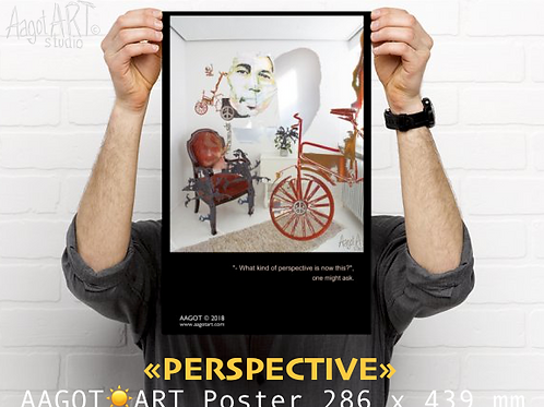 "Poster ""PERSPECTIVE"" (286x439mm)"